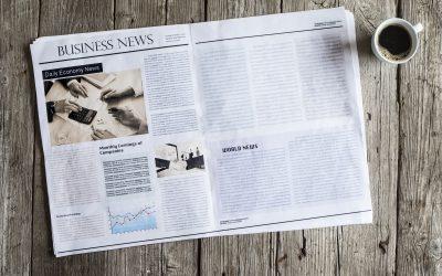 Vi är i tidningen